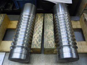 光明金型製作所 旋盤加工品